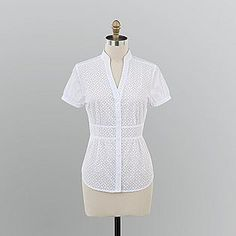 $8 Kmart  Sm & Med only   Attention Women's Burn-out Pattern Blouse