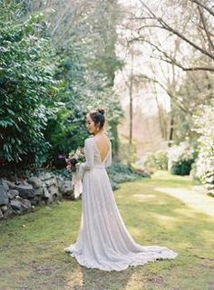 A Fantasy Garden Theme, a Perfume Bar, Purple Fleurs - This Is Whimsy Wedding Heaven. theme wedding dress bridesmaid A Fantasy Garden Theme, a Perfume Bar, Purple Fleurs - This Is Whimsy Wedding Heaven. Lavender Wedding Dress, Fairy Wedding Dress, Princess Wedding Dresses, Modest Wedding Dresses, Purple Wedding, Dream Wedding, Garden Wedding, Spring Wedding, Fine Art Wedding Photography