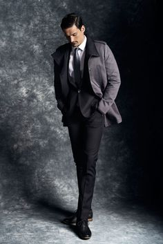 ♂ fashionable men gentleman style masculine and elegance classy grey Reserved F/W 2013 lookbook