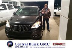 https://flic.kr/p/BFpnxD | Happy Anniversary to Terry on your #Buick #Encore from Billy Edgar at Central Buick GMC! | deliverymaxx.com/DealerReviews.aspx?DealerCode=GHWO