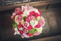 A Gorgeous Summer Vow Exchange Bridal Bouquet! Chapel Wedding, Wedding Venues, Scabiosa Flowers, Stock Flower, Dance The Night Away, Vows, Summer Time, Wedding Flowers, Floral Wreath