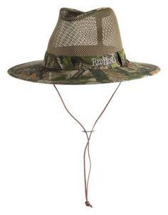 RedHead Mesh Outback Hat for Men - TrueTimber HTC Green - XL