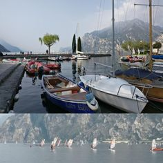 Morning at Lake Garda   #lakegarda #gardasee #lagodigarda #lake #sailing #segeln #shoreline #italy Lake Garda, Sailing, Italy, Photography, Candle, Italia, Boating, Photograph, Fotografie
