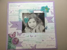 Kaisercraft Fairy Dust Collection I love this line! #cutiepatootie #bethbergnerdesigns.com Scrapbook Page Layouts, Scrapbook Pages, Scrapbooking, Baby Girl Scrapbook, Fairy Dust, Dust Collection, Kids Cards, Princesses, Projects To Try