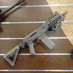 Magpul now has AK magazines and an extended line of AK-47 furniture as well. Tastefully done I would buy.