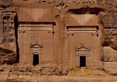 Eric Lafforgue, Madain Saleh tombs, Saudi Arabia