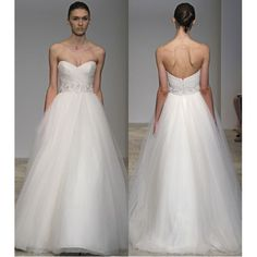 2012 Sweetheart Appliqued Satin Tulle Wedding Gown - Star Bridal Apparel