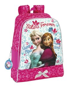 Frozen Large Backpack. Sisters Forever Collection. This backpack is great for school, travel and outings!