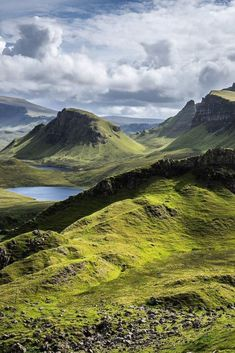 Isle of Skye is home to the most dramatic landscapes in all of Scotland—from its windswept valleys to craggy mountain peaks and sharp-edged sea cliffs lining the coast. It's also one of the United Kingdom's most surprising culinary hubs, with a clutch of restaurants gaining international attention for their inventive locavore cuisine. Read on for more from the UK.  📸: @karendaly411 on Instagram Landscape Photos, Landscape Photography, Mountain Photos, Skye Scotland, Best Hikes, Natural Wonders, Beautiful Landscapes, Beautiful Places, Amazing Places