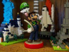 Ghostbusting Luigi is my new favorite custom amiibo (via Reddit). http://imgur.com/a/bTA4A