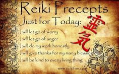 Reiki Just or Today...