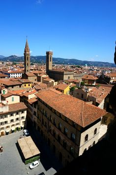 the view from Palazzo Vecchio, Firenze, Italy 피렌체 베키오 궁전에서 바라본 풍경