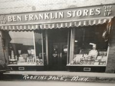 My Mom worked in Ben Franklin 5 & 10 for many years in Pompton Lakes, N.J.  Great soda fountain and ice cream sundaes....