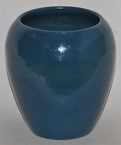 Saturday Evening Girls Pottery Blue Vase from Just Art Pottery