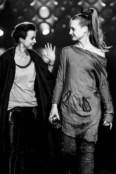 "fot. Marek Makowski / backstage pokazu Roberta Kupisza ""Iron"" zima 2014/15"