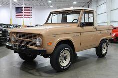 1967 Ford Bronco Pickup Truck