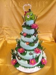 Modifica galleria fotografica - Matrimonio.com Sugar Art, Celebration Cakes, No Bake Cake, Amazing Cakes, Fondant, Red Carpet, Cake Decorating, Wedding Cakes, Cookies