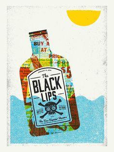 """The Black Lips at the Cox Capitol Theatre in Macon, GA 18""""..."""