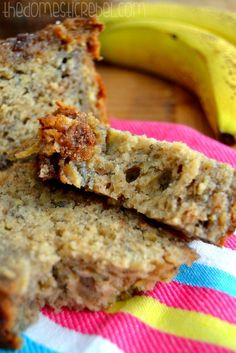 The BEST Banana Bread – The Domestic Rebel (secret ingredient makes a difference)