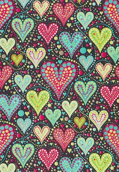 Paragraph idea: Things I love!...and possible hearts and dots art project.