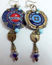 Artisan Earrings, Chapas Style, Blue Moon and Shipyard Brewery, B'sue Boutiques
