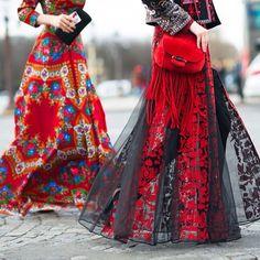 After Valentino Paris / High Fashion / Ethnic & Oriental / Carpet & Kilim & Tiles & Prints & Embroidery Inspiration / Folk Fashion, High Fashion, Fashion Beauty, Womens Fashion, Paris Fashion, Haute Couture Style, Demna Gvasalia Vetements, Mode Gipsy, Bohemian Mode