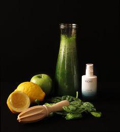 Zumo verde efecto vientre plano | Blog www.micasaencualquierparte.com