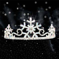 Snowflake+fairies | Winter Snowflake Tiara | Fairy Tale Wedding & More, LLC.