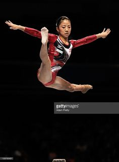 Asuka Teramoto of Japan competes on the Beam aparatus in the Women's qualification during day two of the Artistic Gymnastics World Championships Tokyo 2011 at Tokyo Metropolitan Gymnasium on October 8, 2011 in Tokyo, Japan.