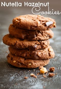 Nutella Hazelnut Cookies Recipe