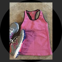 Nike FIT dry Tank Nike FIT dry Tank, good condition for working out but has a little tiny whole on inside (refer to last picture), it had a built in bra😆 Nike Tops Tank Tops