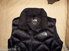 The North Face 550 Down Womens Vest Size M Excellent Cond Anaconda | eBay