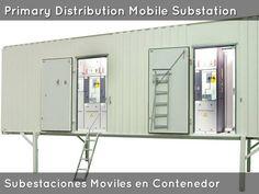 Subestacion Movil de Distribucion. Mobile Distribution Substation. Centro de Distribucion de Potencia Movil Venezuela.