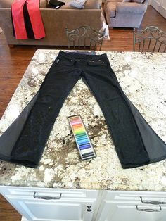 """How to Turn Your Jeans Into """"Skinny"""" Jeans (Works For Maternity Jeans, Too!)"""