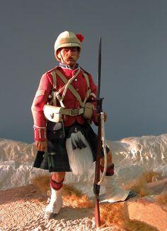 Tony Barton -- The Highland Brigade at Tell-el-Kebir, 13 Sept.1881. - OSW: One Sixth Warrior Forum