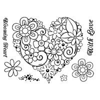 Curly Love ~ Stamp Set
