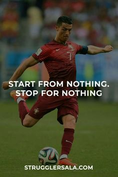 Inspirational Football Quotes, Soccer Quotes, Motivational Quotes For Life, Motivacional Quotes, Study Quotes, Life Lesson Quotes, Lamborghini Quotes, Football Motivation, Don't Give Up Quotes