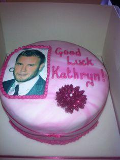'Good luck' Gary Barlow cake