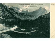 Romsdal Hamburg-Amerika linje Nordlandsfahrt