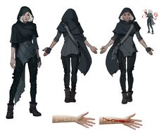 Bloodwitch Ione concepts by witchingbones.deviantart.com on @deviantART