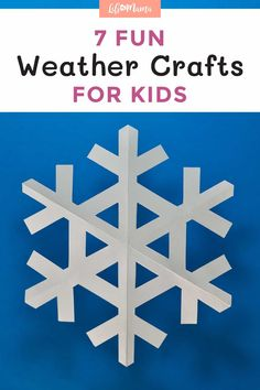 Looking for fun kids' activities that double as science lessons? Check out these 7 fun DIY weather crafts for kids on LifeAsMama.com. | #lifeasmama #science #kids #weather #crafts Science Activities For Kids, Science Lessons, Toddler Activities, Preschool Activities, Fun Arts And Crafts, Crafts For Kids, Teaching Weather, Weather Lessons, Weather Crafts