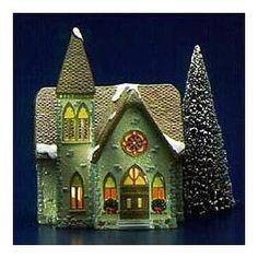 Image detail for -Amazon.com: Dept 56 Original Snow Village Redeemer Church 5127-6 ...