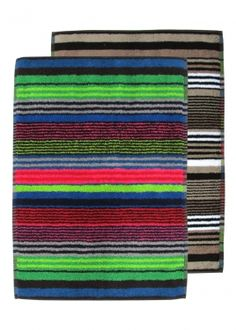 Huomenta bathmat comes in a modern stripedesign that suits any bathroom perfect. Marimekko Fabric, Interiors Online, Cool Rugs, Scandinavian Interior, Interior Accessories, Bold Colors, Finland, Bath Mat, Outdoor Blanket