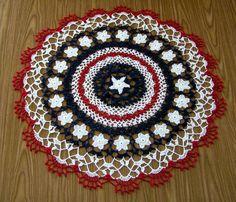 http://rogerlippert.com/albums/crochet/albums/Doilies/Patriotic_Doily.