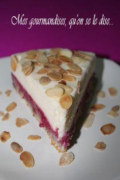 Raspberry, almond and mascarpone swirl Brownie Desserts, Peanut Butter Desserts, Ice Cream Desserts, Raspberry Desserts, Classic French Desserts, Italian Desserts, Top Recipes, Sweet Recipes, Bon Dessert