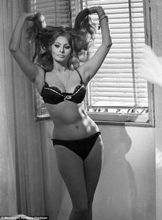 Happy to take it off: She said performing this strip tease scene for Yesterday, Today, and Tomorrow in 1963 was a lot of fun
