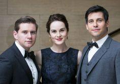 Downton Abbeys Tom, Mary and Thomas