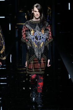 FCBTC / Balmain Fall 2017 Menswear Collection Photos - Vogue