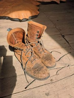 these boots have been all the way around Patagonia & back, now off to Cuba for their next adventure. Vintage Boots, Vintage Leather, Cycling Shoes, Patagonia, Cuba, Leather Boots, Combat Boots, Adventure, Fashion