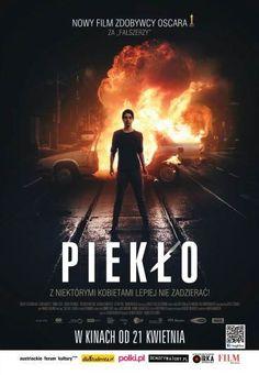 Piekło - W kinach od 21 kwietnia, plakat - Film PL Film Movie, Movies, Movie Covers, Poster, Movie, Films, Film, Cinema, Movie Quotes